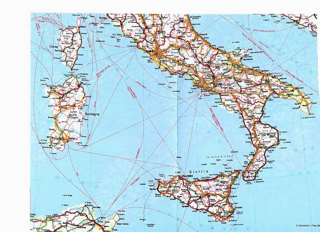 Italia Sud Cartina.Sul Web I 17 Comandamenti Del Meridionalista 2s